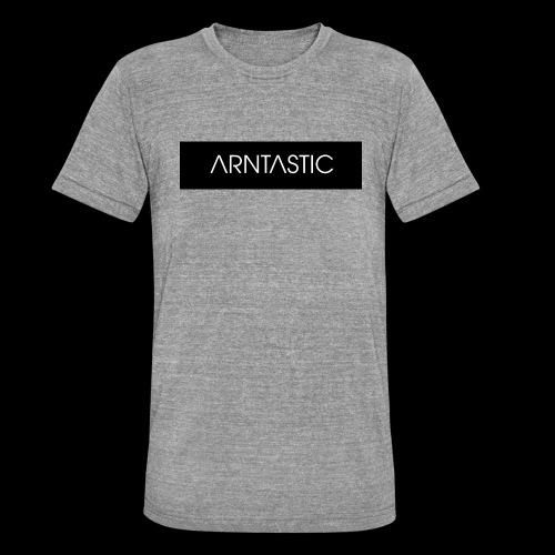 ARNTASTIC balken schwarz - Unisex Tri-Blend T-Shirt von Bella + Canvas