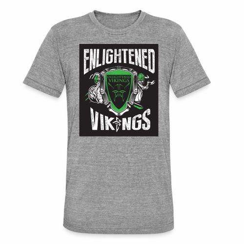 Enlightend Vikings - Unisex tri-blend T-skjorte fra Bella + Canvas