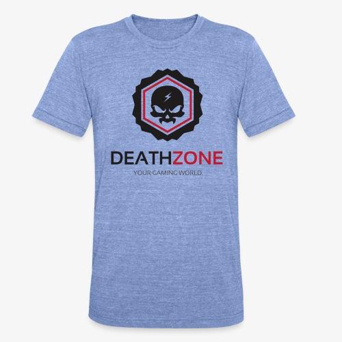 DeathZone Logo Avatar - Koszulka Bella + Canvas triblend – typu unisex