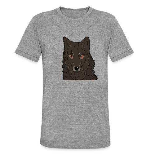 HikingMantis Wolf png - Unisex tri-blend T-shirt fra Bella + Canvas