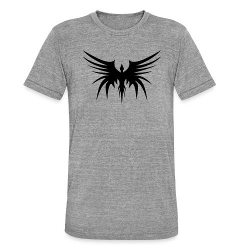 Phoenix Noir - T-shirt chiné Bella + Canvas Unisexe