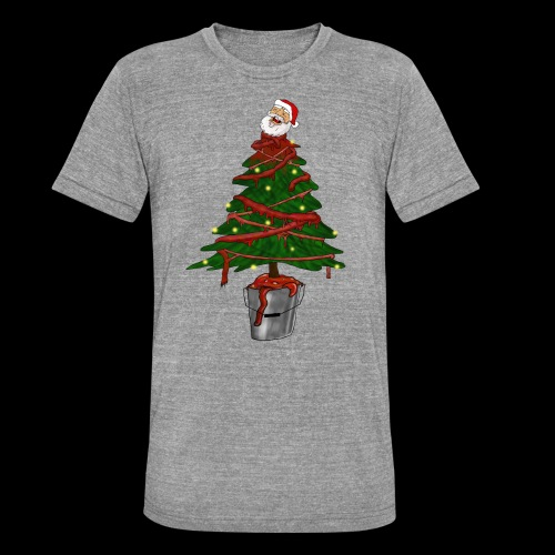 Messy Christmas - Unisex tri-blend T-shirt van Bella + Canvas