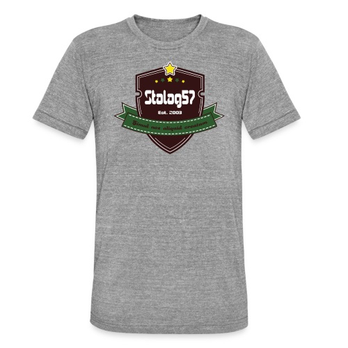 logo - T-shirt chiné Bella + Canvas Unisexe