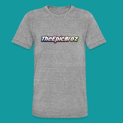 TheEpicBroz - Unisex tri-blend T-shirt van Bella + Canvas