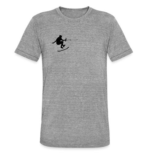 wakeskater_black - Unisex Tri-Blend T-Shirt von Bella + Canvas