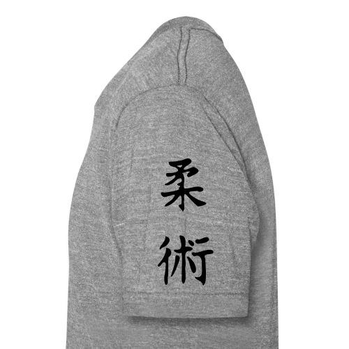 jiu-jitsu på japansk og logo - Unisex tri-blend T-shirt fra Bella + Canvas