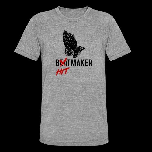 HitMaker Noir - T-shirt chiné Bella + Canvas Unisexe