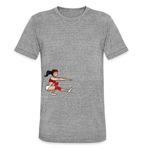 The pistol girl - Unisex Tri-Blend T-Shirt von Bella + Canvas