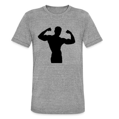 Musculation - T-shirt chiné Bella + Canvas Unisexe
