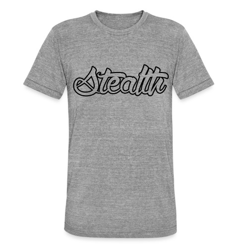 Stealth White Merch - Unisex Tri-Blend T-Shirt by Bella & Canvas