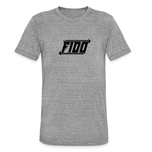Fido - Simple - Unisex tri-blend T-shirt fra Bella + Canvas