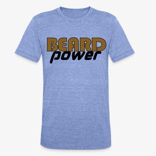 beardpower - Unisex Tri-Blend T-Shirt by Bella & Canvas