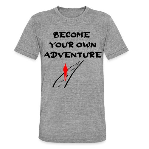 Road2 - Unisex tri-blend T-shirt fra Bella + Canvas