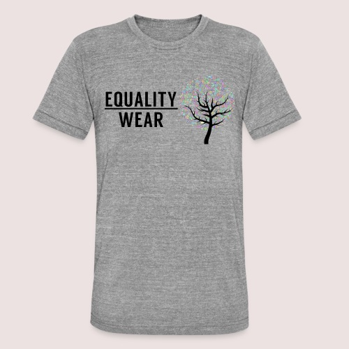 Musical Equality Edition - Unisex Tri-Blend T-Shirt by Bella & Canvas