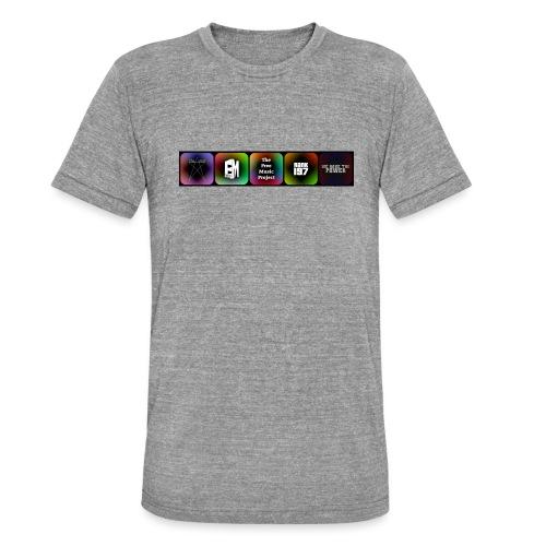 5 Logos - Unisex Tri-Blend T-Shirt by Bella & Canvas