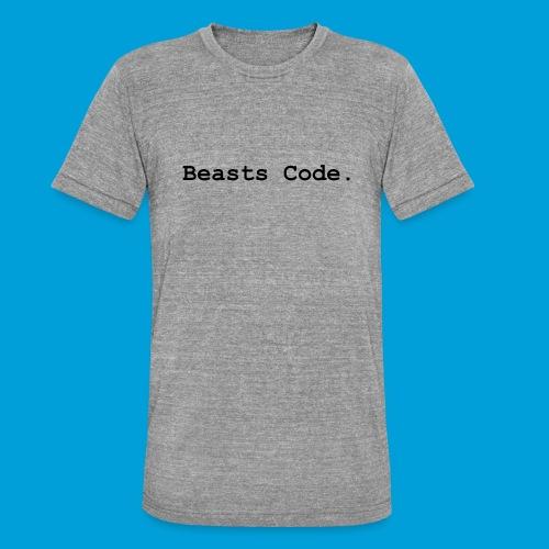 Beasts Code. - Unisex Tri-Blend T-Shirt by Bella + Canvas