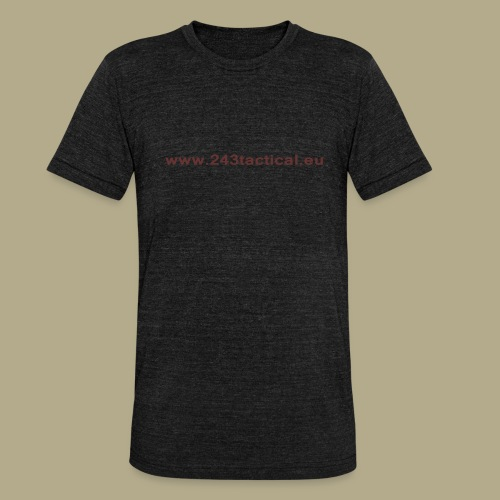 .243 Tactical Website - Unisex tri-blend T-shirt van Bella + Canvas