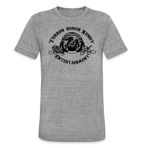 tdklogoschwarz 3 - Unisex Tri-Blend T-Shirt von Bella + Canvas