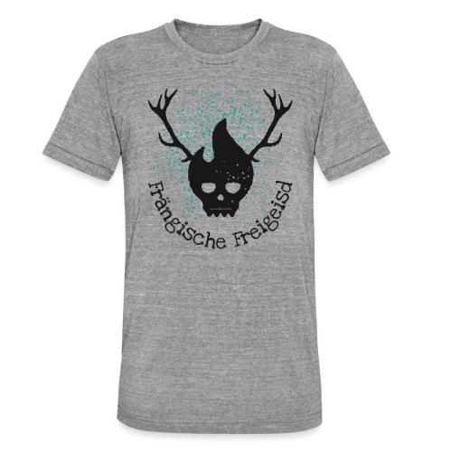 Frängische Freigeisd - Unisex Tri-Blend T-Shirt von Bella + Canvas
