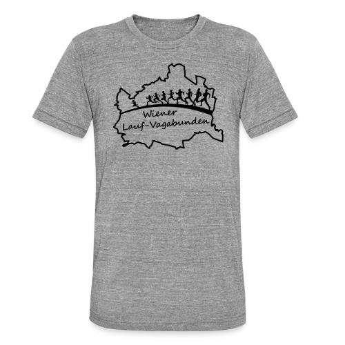 Laufvagabunden T Shirt - Unisex Tri-Blend T-Shirt von Bella + Canvas