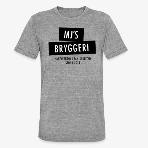 MJs logga - Triblend-T-shirt unisex från Bella + Canvas
