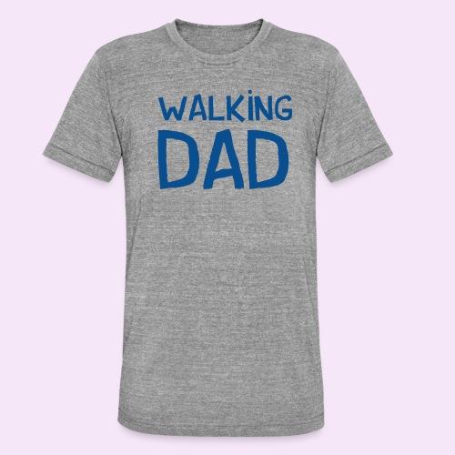 Vierdaagse Nijmegen - Walking Dad BLUE - Unisex tri-blend T-shirt van Bella + Canvas