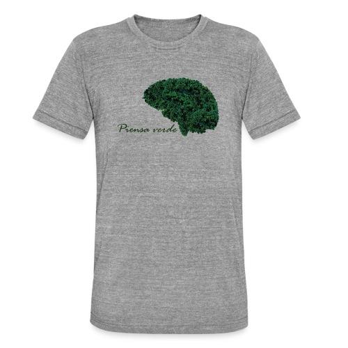 Piensa verde - Camiseta Tri-Blend unisex de Bella + Canvas