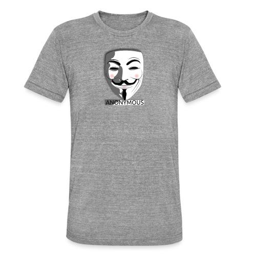 Anonymous - Unisex Tri-Blend T-Shirt by Bella & Canvas