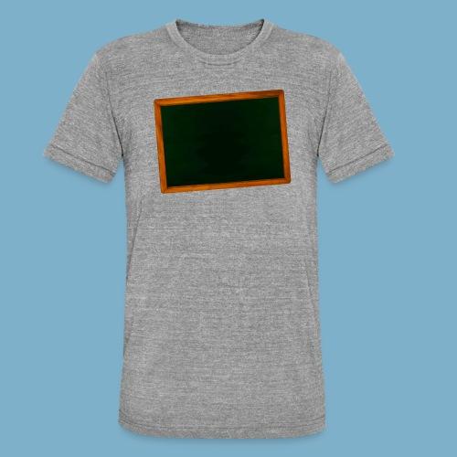 Schul Tafel - Unisex Tri-Blend T-Shirt von Bella + Canvas