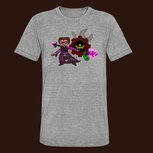 Gardelogo farbe png - Unisex Tri-Blend T-Shirt von Bella + Canvas
