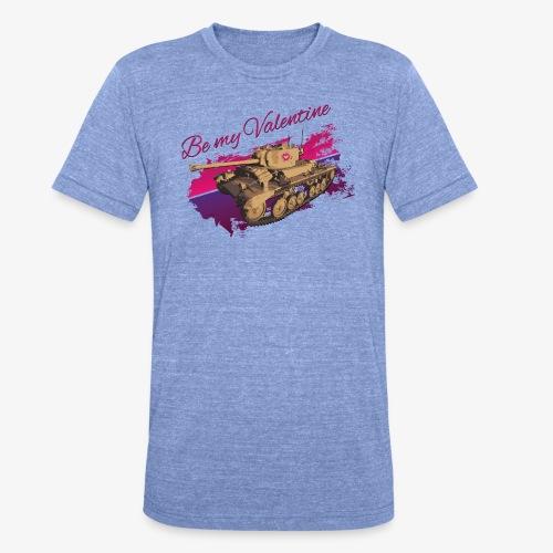 Be my Valentine Tank - Unisex Tri-Blend T-Shirt von Bella + Canvas