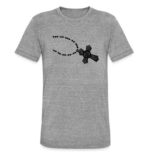 kruis 2 png - Unisex tri-blend T-shirt van Bella + Canvas
