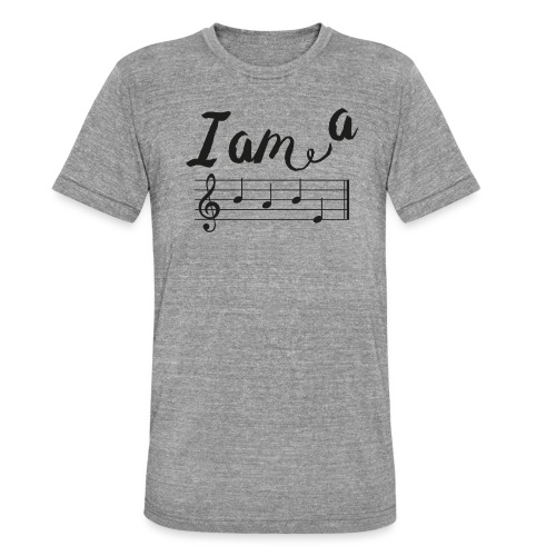 ImABabe - Unisex tri-blend T-shirt van Bella + Canvas