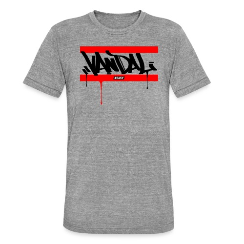 #EASY Graffiti Vandal T-Shirt - Maglietta unisex tri-blend di Bella + Canvas
