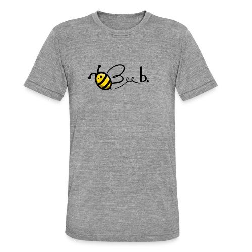 Bee b. Logo - Unisex Tri-Blend T-Shirt by Bella & Canvas