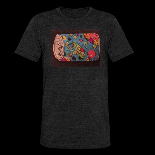 7AABC614 53CA 4156 B765 D9FBF5B8E496 - Unisex tri-blend T-shirt fra Bella + Canvas