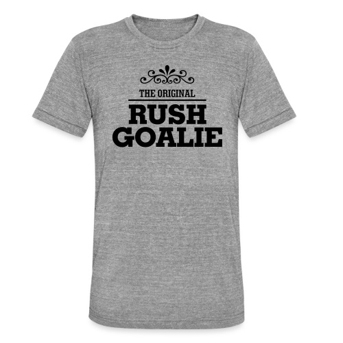 The Original Rush Goalie - Unisex Tri-Blend T-Shirt by Bella & Canvas