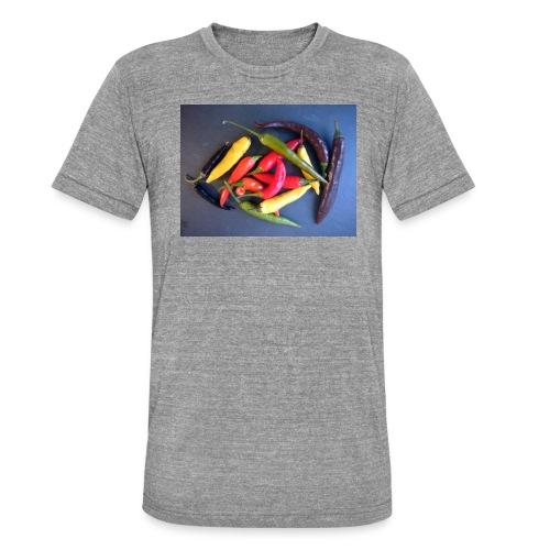 Chili bunt - Unisex Tri-Blend T-Shirt von Bella + Canvas