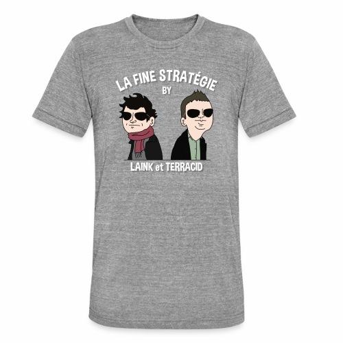 lafinestratégie - T-shirt chiné Bella + Canvas Unisexe