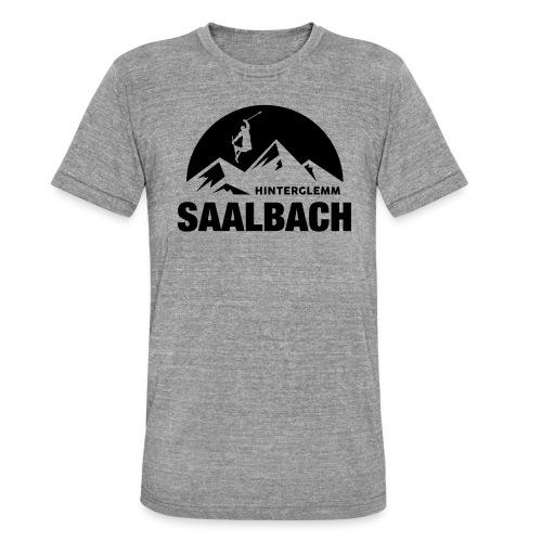 Summit Saalbach - Unisex tri-blend T-shirt van Bella + Canvas