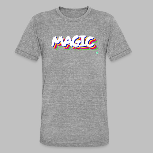 Magic Color T-Shirt - T-shirt chiné Bella + Canvas Unisexe