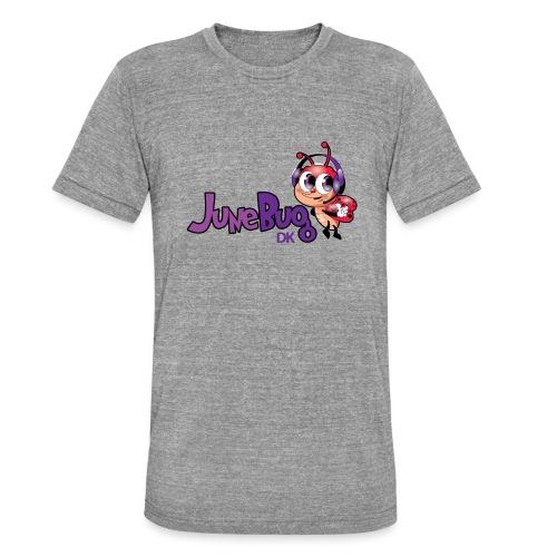 JuneBugDK - Unisex tri-blend T-shirt fra Bella + Canvas