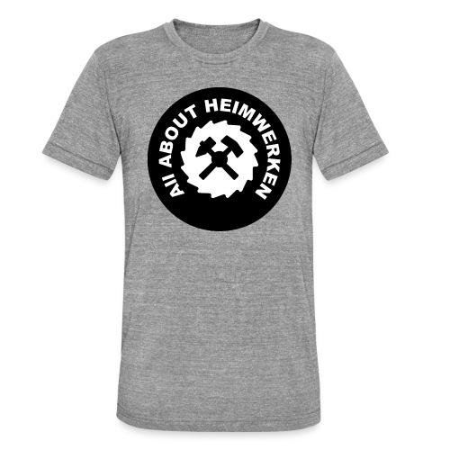 ALL ABOUT HEIMWERKEN - LOGO - Unisex Tri-Blend T-Shirt von Bella + Canvas