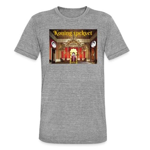 Koning Spekvet - Unisex tri-blend T-shirt van Bella + Canvas