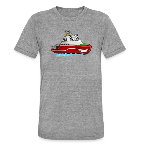 Boaty McBoatface - Unisex Tri-Blend T-Shirt by Bella & Canvas