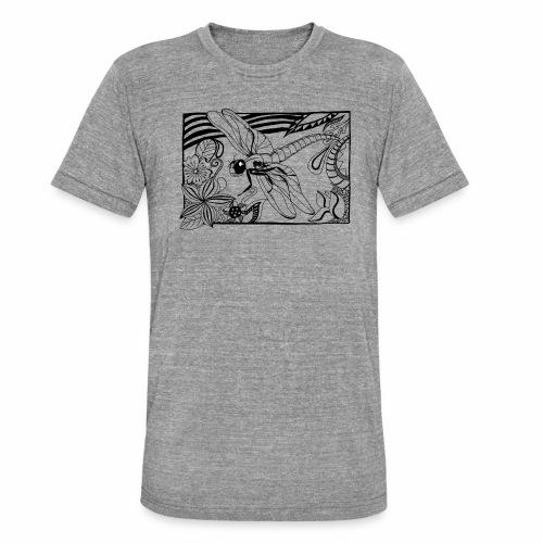 Dragonfly - Koszulka Bella + Canvas triblend – typu unisex
