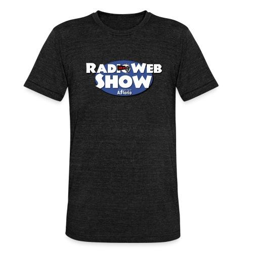 Logo RadioWebShow - Maglietta unisex tri-blend di Bella + Canvas