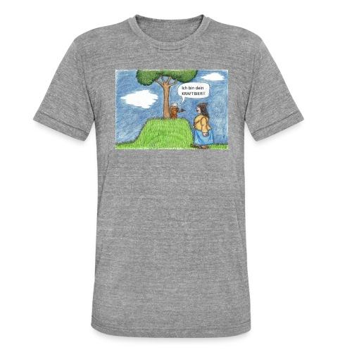 Kraftbier - Unisex Tri-Blend T-Shirt von Bella + Canvas