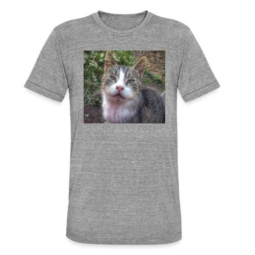 Katze Max - Unisex Tri-Blend T-Shirt von Bella + Canvas