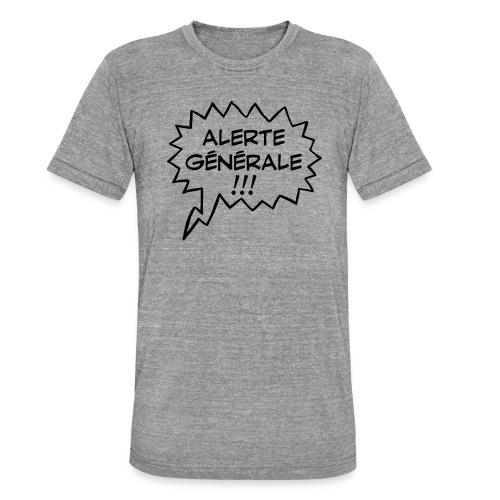 Alerte générale ! - T-shirt chiné Bella + Canvas Unisexe